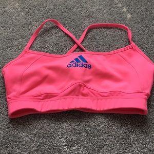 Adidas climalite sports bra